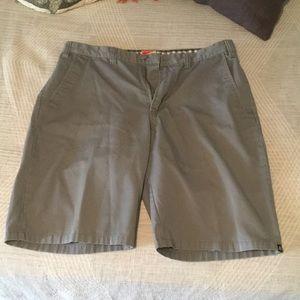 Matix grey shorts size 34